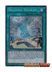 Dragonic Diagram - MACR-EN053 - Secret Rare - 1st Edition