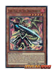 Ignis Heat, the True Dracowarrior - MACR-EN021 - Ultra Rare - 1st Edition