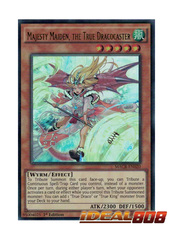 Majesty Maiden, the True Dracocaster - MACR-EN020 - Ultra Rare - 1st Edition