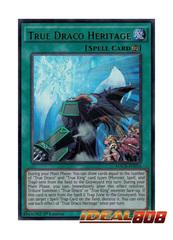 True Draco Heritage - MACR-EN054 - Ultra Rare - 1st Edition