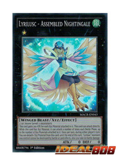 Lyrilusc - Assembled Nightingale - MACR-EN043 - Super Rare - 1st Edition