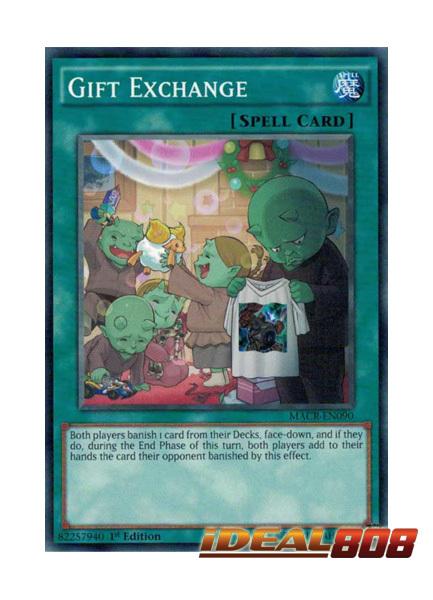 GIFT EXCHANGE YU-GI-OH CARD MACR-EN090-1st EDITION