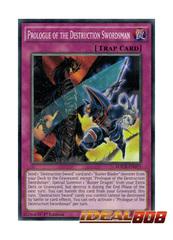 Prologue of the Destruction Swordsman - MACR-EN075 - Common - 1st Edition