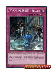 SPYRAL MISSION - Rescue - MACR-EN089 - Common - 1st Edition