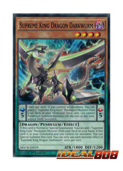 Supreme King Dragon Darkwurm - MACR-EN019 - Common - 1st Edition