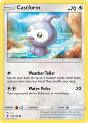 Castform - 105/145 - Common