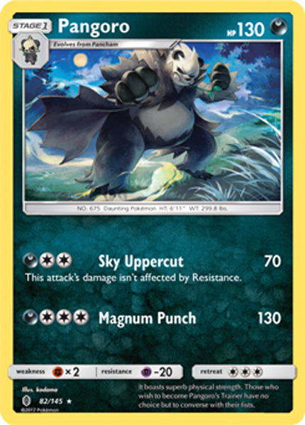 Castform 105//145 Guardians Rising Reverse Holo Mint Pokemon Card