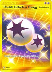 Double Colorless Energy  - 166/145 - Secret Rare