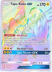 Tapu Koko GX  - 153/145 - Secret Rare