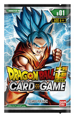 DBS-B01 Galactic Battle (English) Dragon Ball Super Booster Pack [12 Cards]