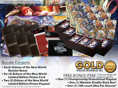 Force of Will L04 Bundle (B) Gold - x 6 Echoes of the New World + FREE Bonus