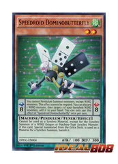 Speedroid Dominobutterfly - DPDG-EN004 - Ultra Rare - 1st Edition