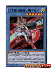 Cyber Angel Benten - DPDG-EN015 - Super Rare - 1st Edition