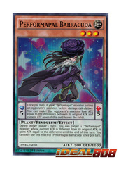 Performapal Barracuda - DPDG-EN003 - Super Rare - 1st Edition