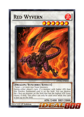 Red Wyvern - DPDG-EN032 - Common - 1st Edition