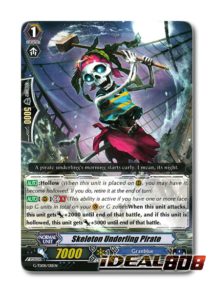 Skeleton Underling Pirate - G-TD08/011EN - TD (common ver.)