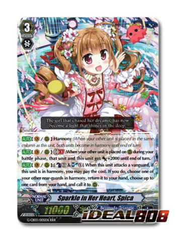 Sparkle in Her Heart, Spica - G-CB03/005EN - RRR