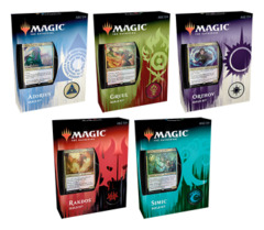 Ravnica Allegiance (RNA) Guild Kit Deck  Set [All 5 Decks (Azorius, Gruul, Rakdos, Simic, Orzhov)] * PRE-ORDER Ships Feb.22