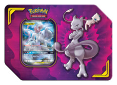 Power Partnership Pokemon Tin: Mewtwo & Mew GX