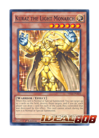 Kuraz the Light Monarch - Common - YS14-ENA03 (1st Edition)