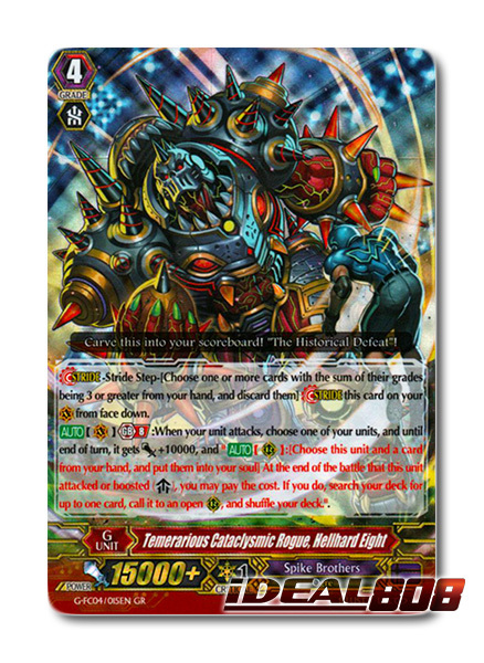 Temerarious Cataclysmic Rogue, Hellhard Eight - G-FC04/015EN - GR