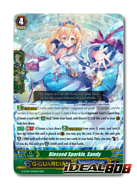Blessed Sparkle, Sandy - G-FC04/044EN - RRR