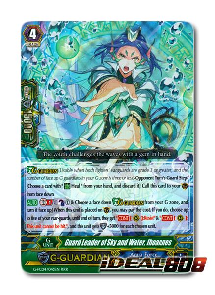 Guard Leader of Sky and Water, Ihoannes - G-FC04/045EN - RRR