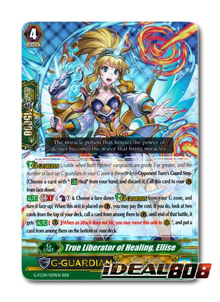 True Liberator of Healing, Ellise - G-FC04/029EN - RRR
