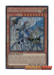 Master Peace, the True Dracoslaying King - MACR-EN024 - Secret Rare - Unlimited Edition