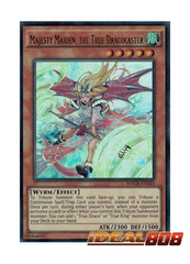 Majesty Maiden, the True Dracocaster - MACR-EN020 - Ultra Rare - Unlimited Edition