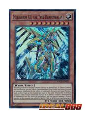 Metaltron XII, the True Dracombatant - MACR-EN025 - Super Rare - Unlimited Edition