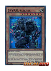 SPYRAL Sleeper - MACR-EN086 - Super Rare - Unlimited Edition