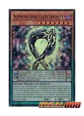 Supreme King Gate Infinity - MACR-EN018 - Super Rare - Unlimited Edition