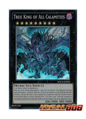 True King of All Calamities - MACR-EN046 - Super Rare - Unlimited Edition