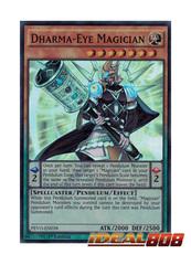 Dharma-Eye Magician - PEVO-EN018 - Super Rare - 1st Edition