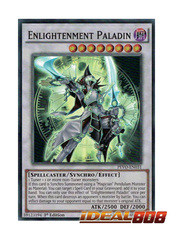 Enlightenment Paladin - PEVO-EN031 - Super Rare - 1st Edition