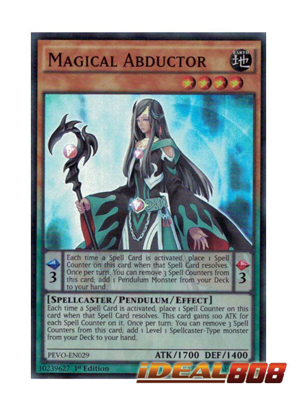 Magical Abductor - PEVO-EN029 - Super Rare - 1st Edition
