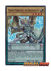 Master Pendulum, the Dracoslayer - PEVO-EN059 - Super Rare - 1st Edition
