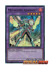 Metalfoes Adamante - PEVO-EN055 - Super Rare - 1st Edition