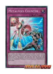 Metalfoes Counter - PEVO-EN056 - Super Rare - 1st Edition