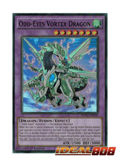 Odd-Eyes Vortex Dragon - PEVO-EN030 - Super Rare - 1st Edition