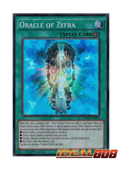 Oracle of Zefra - PEVO-EN050 - Super Rare - 1st Edition