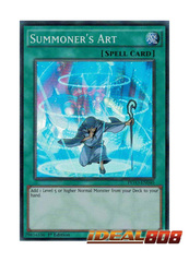 Summoner's Art - PEVO-EN040 - Super Rare - 1st Edition