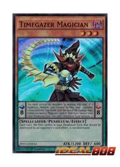Timegazer Magician - PEVO-EN012 - Super Rare - 1st Edition