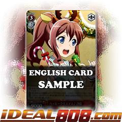 Happy Christmas Saya [BD/W47-E021 RR] English