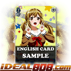 Starrin'PARTY, Arisa Ichigaya [BD/W47-E091P PPR (Promo FOIL)] English