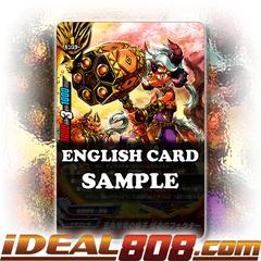 Fifth Omni Cavalry Dragon Disciple, Explosive Hammer Fekthar [X-BT02/0049EN U] English