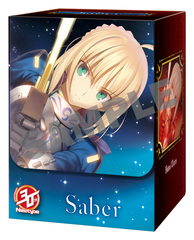 NewType Cover Fate/Zero Saber Character Deck Box
