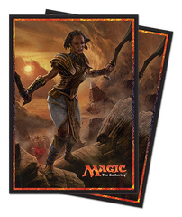 Magic the Gathering Hour of Devastation Samut, the Tested Ultra Pro Sleeve 80ct. (#86570)