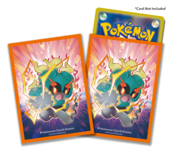 pokemon sun moon card sleeves 64ct marshadow z power